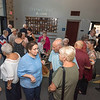 James Neiss/staff photographer <br /> Lockport, NY - Guests gather before the Lockport High School Distinguished Alumni Induction Ceremony.