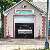 James Neiss/Staff Photographer<br /> Niagara Falls, NY - It is a rare sight to see the rear end of a 1966 Buick Electra 225 poking out of a mechanics garage, as was the case at Kirk's Performance Automotive on Buffalo Avenue on Thursday.