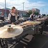James Neiss/staff photographer <br /> Niagara Falls, NY - Members of South Wind out of Mobile, Al, practice at Niagara Falls High School before their performance. Niagara Falls High School hosted Drum Corps International presentation of Rhythm at the Rapids, a prelude to Drums Along The Waterfront.