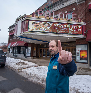 5 James Neiss/staff photographer  Lockport, NY - House Manager Tom Seekins of The Palace Theatre.
