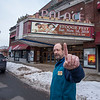 5<br /> James Neiss/staff photographer <br /> Lockport, NY - House Manager Tom Seekins of The Palace Theatre.