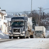 James Neiss/staff photographer <br /> Lockport, NY - Thruway driving bans because of the snow storm brought more semi traffic threw Lockport on Route 31 on Wednesday.
