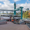 James Neiss/staff photographer <br /> Niagara Falls, NY - Construction continues on the new electric Maid of the Mist boats.