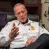 James Neiss/staff photographer <br /> Lockport, NY - Lockport Police Chief Steve Abbott.