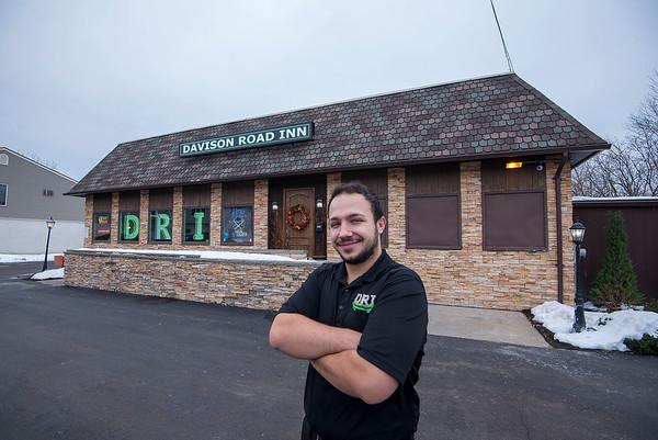 James Neiss/staff photographer  Lockport, NY - Justin Kirchberger of the Davison Road Inn.