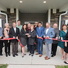 James Neiss/staff photographer <br /> Niagara Falls, NY - The Niagara River Region Chamber of Commerce, Howard Hanna Real Estate and McGuire Development Company held a ceremonial ribbon cutting at the new Fairchild Place in Lewiston.