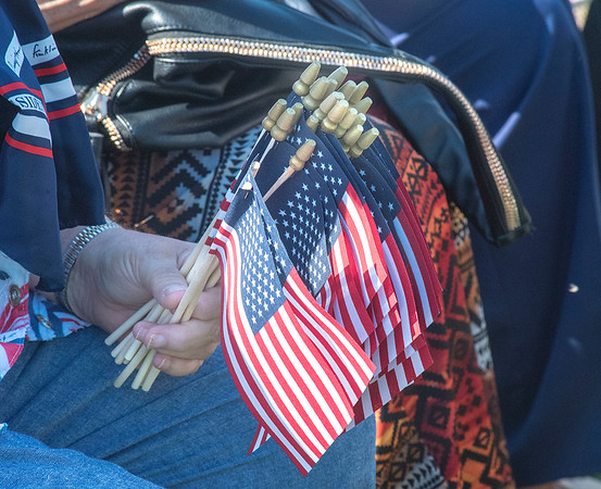 James Neiss/staff photographer <br /> Youngstown, NY - Twenty new American Citizens were sworn in at Old Fort Niagara on Wednesday. The U.S. Citizenship and Immigration Service held a Naturalization Ceremony at Old Fort Niagara.