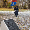 James Neiss/staff photographer <br /> Sanborn, NY - Members of the Niagara Falls Air Reserve Station Honor Guard present the colors at the NCCC Veterans Day Ceremony on Friday.