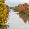 James Neiss/staff photographer <br /> Lockport, NY - The fall colors have come to areas of the Erie Canal in Lockport, like this view from Robinson Road.