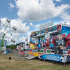 James Neiss/Staff Photographer<br /> Lockport, NY - A group of carnival ride operators just had to test out the Avengers ride at the Niagara County Fair. They said it was for safety reasons…. not for fun.