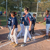 James Neiss/Staff Photographer<br /> Niagara Falls, NY - Good sports all, the Red Sox congratulated the Whirlpool Yankees for winning the city championship.