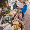 James Neiss/staff photographer <br /> Niagara Falls, NY - Sheri Senek of Senek Farms takes care of customer Rick Zucco of Niagara Falls who was shopping for apples and apple cider. The City Market is now on their winter schedule and will be only open on Fridays from 9 a.m. to 2 p.m. through spring.