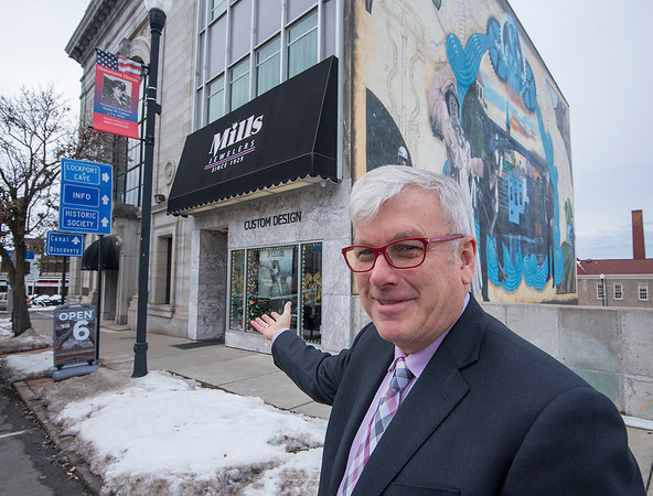 James Neiss/staff photographer <br /> Lockport, NY - George Fritz of Mills Jewelers.