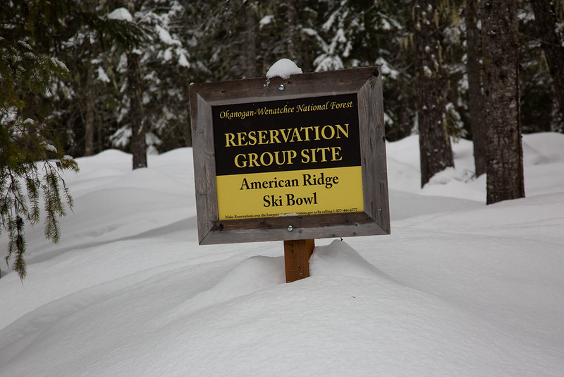 American Ridge Ski Bowl <br /> Chinook Pass, WA