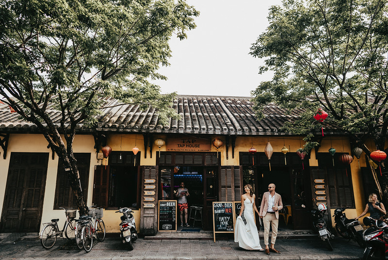 Hoi An Wedding - Intimate Wedding of Angela & Joey captured by Vietnam Destination Wedding Photographers Hipster Wedding-8278