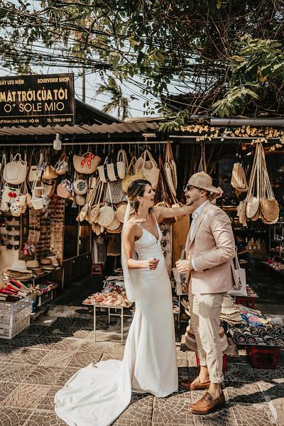 Hoi An Wedding - Intimate Wedding of Angela & Joey captured by Vietnam Destination Wedding Photographers Hipster Wedding-8238