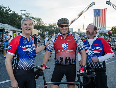Cyclists attend the 2019 Florida Honor Ride in St. Petersburg, FL.  Photo by Jack Edgar