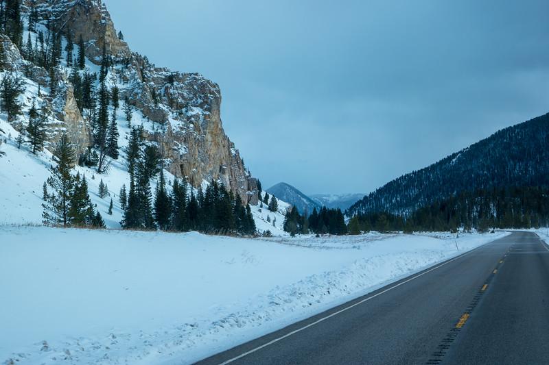 Near Western Yellowstone NP