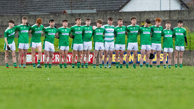 Limerick Team before the start of the Munster Minor Football Championship