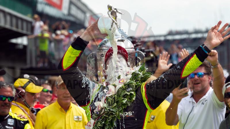 Simon Pagenaud, Indianapolis 500