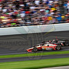 IndyCar practice for the 2019 Indy500 on Carb Day at Indianapolis Motor Speedway