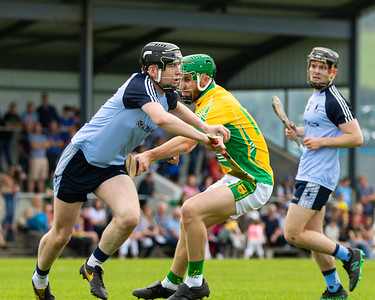 Nenagh Eire Og's Mark Carey and Toomevara's Paraic Shanahan