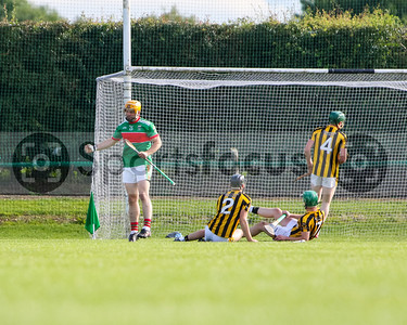 Loughmore Castleiney's Liam McGrath celebrates after scoring his sides first goal.