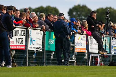 Supporters at the FBD Insurance Tipperary Senior Hurling Championship at Templetuohy
