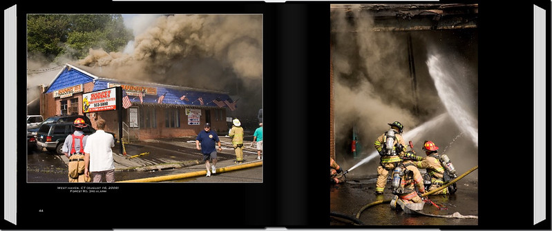 PAGE 44-45 <br /> West haven, CT (August 16, 2009) <br /> Forest Rd. 3rd alarm  edit