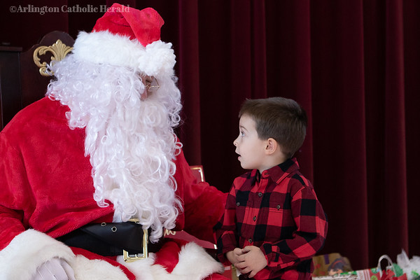 2019 St. Ambrose Church Breakfast with Santa