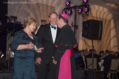 Bishop Michael F. Burbidge and more than 900 guests celebrate the work of Catholic Charities at the Ritz-Carlton in McLean, Virginia  Feb. 22. © George Goss