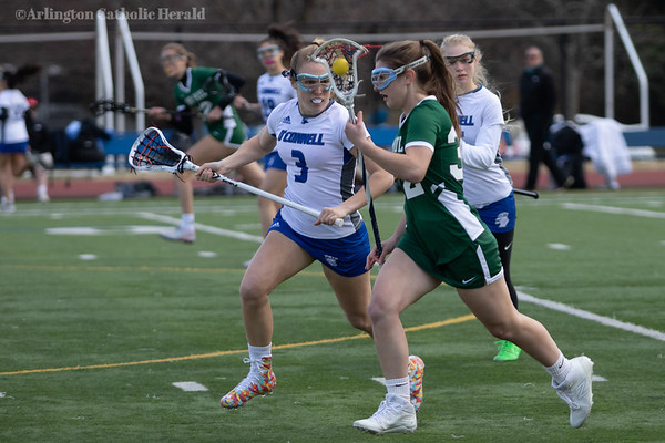 Girls Lacrosse: John Paul the Great vs. Bishop O'Connell, 031819