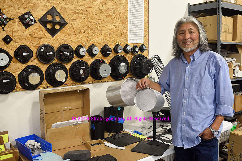 Mike Park of James Loudspeaker