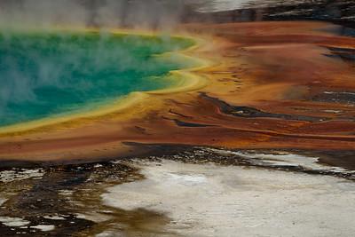 DA099,DP,Grand Prismatic Spring, Yellowstone, WY
