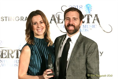 Natashia Mandrusiak & Adam Oppenheim - Calgary Stampede - Talent Buyer - 2018 ACMA Awards 3046