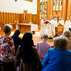 Mass for jubilarian sisters of the Archdiocese of Boston at St. Elizabeth Church in Milton, Sept. 22, 2019.<br /> Pilot photo/ Gregory L. Tracy