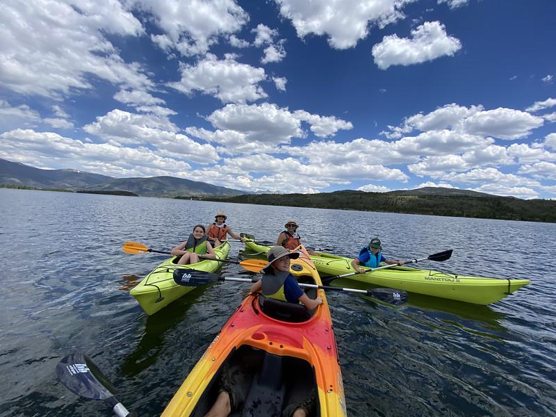7/1-7/4 Kayaking
