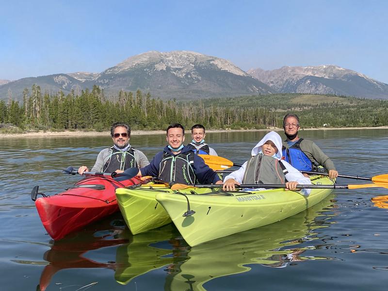 8/15 Kayak Tours