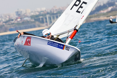 Day 1 of the Laser Europeans Porto 2019