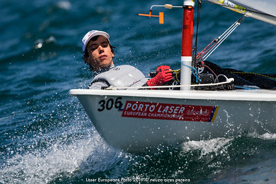 Day 2 of the Laser Europeans Porto 2019