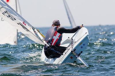 Day 3 of the Laser Europeans Porto 2019