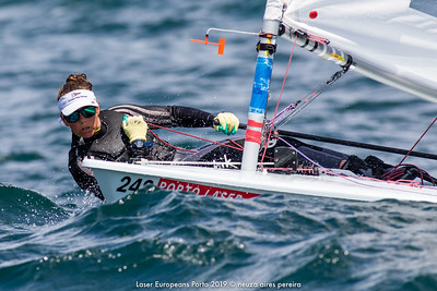Day 4 of the Laser Europeans Porto 2019