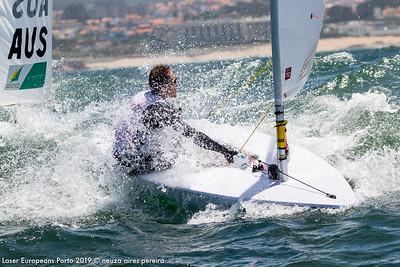 Day 5 of the Laser Europeans Porto 2019