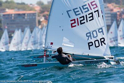Day 6 of the Laser Europeans Porto 2019