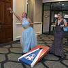 Scenes from the Leominster High School Prom at DoubleTree by Hilton Hotel in Leominster, May 11, 2019. Playing some cornhole at the prom is Daytona-Rose Morin and Alexis Hahn. SENTINEL & ENTERPRISE/JOHN LOVE