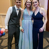 Scenes from the Leominster High School Prom at DoubleTree by Hilton Hotel in Leominster, May 11, 2019. Hunter Jordan , Sydney Harper and Monique Contreras at the prom. SENTINEL & ENTERPRISE/JOHN LOVE