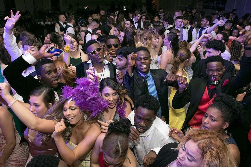 . Scenes from the Leominster High School Prom at DoubleTree by Hilton Hotel in Leominster, May 11, 2019. SENTINEL & ENTERPRISE/JOHN LOVE