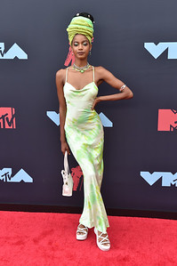 NEWARK, NJ - AUGUST 26:  2019 MTV Video Music Awards at the Prudential Center on August 26, 2019 in Newark, NJ, USA.  (Photo by : Aaron J. / RedCarpetImages.net)