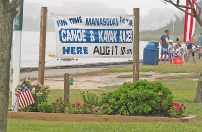 The 2019 canoe and kayak races in Manasquan, NJ on 8/17/19. [DANIELLA HEMINGHAUS]