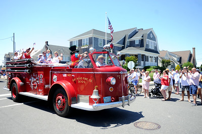 The Bay Head Fire Department participated in the 2019 Mantoloking 4TH of July Parade in the Boro of Mantoloking on 07/04/2019. (STEVE WEXLER/THE OCEAN STAR).